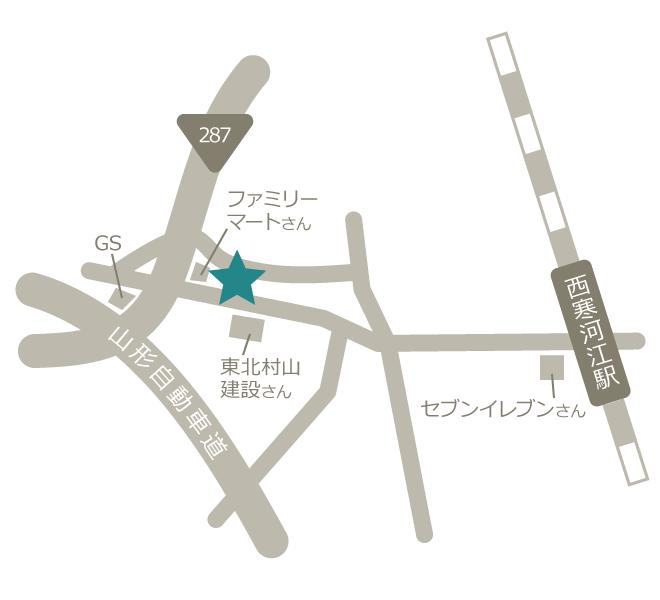 メンテルアクセスマップ